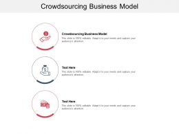 Crowdsourcing Business Model Ppt Powerpoint Presentation Professional Backgrounds Cpb