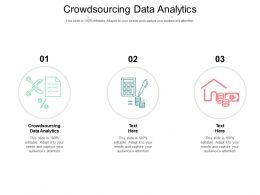 Crowdsourcing Data Analytics Ppt Powerpoint Presentation File Styles Cpb