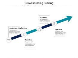 Crowdsourcing Funding Ppt Powerpoint Presentation Outline Slide Portrait Cpb