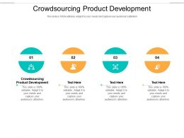 Crowdsourcing Product Development Ppt Powerpoint Presentation Gallery Graphics Cpb