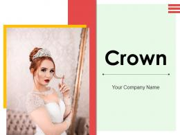 Crown Individual Rhinestone Decorated Precious