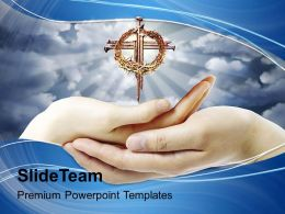 crown_of_thorns_cross_prayer_powerpoint_templates_ppt_backgrounds_for_slides_0414_Slide01
