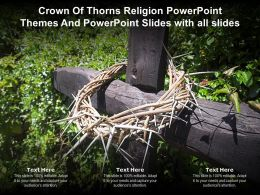 Crown Of Thorns Religion Powerpoint Themes And Powerpoint Slides With All Slides