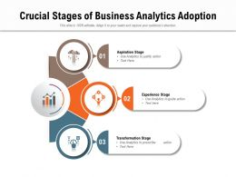 Crucial Stages Of Business Analytics Adoption