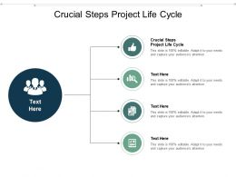 Crucial Steps Project Life Cycle Ppt Powerpoint Presentation Layouts Skills Cpb