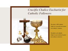 Crucifix Chalice Eucharist For Catholic Followers