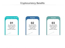 Cryptocurrency Benefits Ppt Powerpoint Presentation File Ideas Cpb