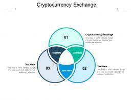 Cryptocurrency Exchange Ppt Powerpoint Presentation Portfolio Gallery Cpb