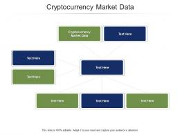 Cryptocurrency Market Data Ppt PowerPoint Presentation Influencers Cpb