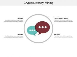 Cryptocurrency Mining Ppt Powerpoint Presentation Icon Format Ideas Cpb