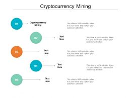 Cryptocurrency Mining Ppt Powerpoint Presentation Inspiration Themes Cpb