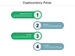 Cryptocurrency Prices Ppt Powerpoint Presentation File Introduction Cpb