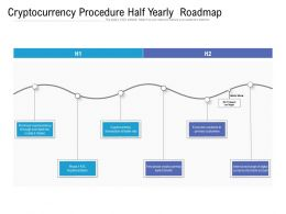 Cryptocurrency Procedure Half Yearly Roadmap