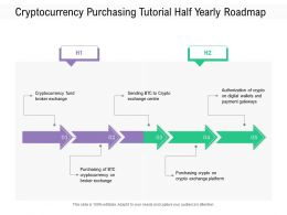 Cryptocurrency Purchasing Tutorial Half Yearly Roadmap