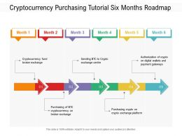 Cryptocurrency Purchasing Tutorial Six Months Roadmap