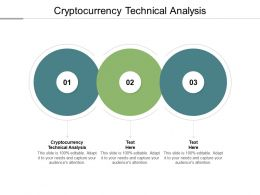 Cryptocurrency Technical Analysis Ppt Powerpoint Presentation Layouts Clipart Cpb
