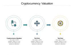 Cryptocurrency Valuation Ppt Powerpoint Presentation Portfolio Sample Cpb
