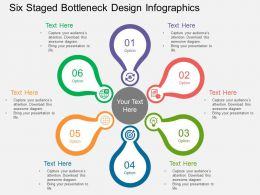 Cs Six Staged Bottleneck Design Infographics Flat Powerpoint Design