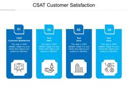 Csat Customer Satisfaction Ppt Powerpoint Presentation Layouts Slideshow Cpb
