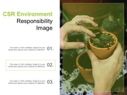 Csr Environment Responsibility Image