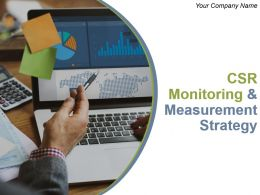 Csr Monitoring And Measurement Strategy Powerpoint Presentation Slides