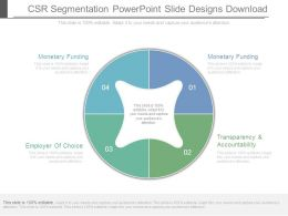 Csr Segmentation Powerpoint Slide Designs Download