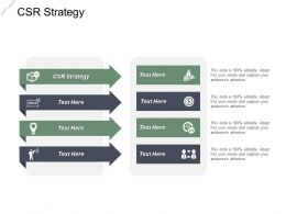 Csr Strategy Ppt Powerpoint Presentation Infographic Template Introduction Cpb