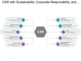 Csr With Sustainability Corporate Responsibility And Responsible Investment