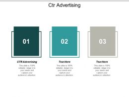CTR Advertising Ppt Powerpoint Presentation Infographic Template Example 2015 Cpb