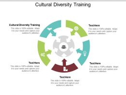 Cultural Diversity Training Ppt Powerpoint Presentation File Design Ideas Cpb