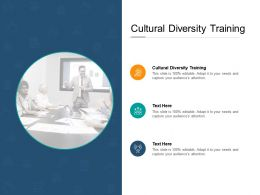 Cultural Diversity Training Ppt Powerpoint Presentation Gallery Rules Cpb