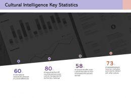 Cultural Intelligence Key Statistics Finance Investment Analysis