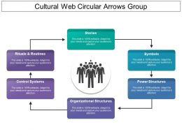 Cultural Web Circular Arrows Group