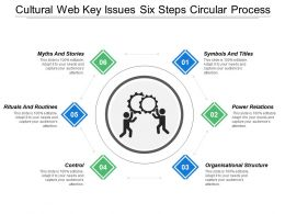 Cultural Web Key Issues Six Steps Circular Process