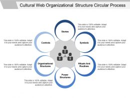 Cultural Web Organizational Structure Circular Process