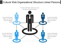 Cultural Web Organizational Structure Linked Person
