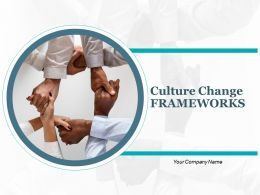 Culture Change Frameworks Communicate Vision And Strategy Information