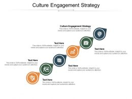 Culture Engagement Strategy Ppt Powerpoint Presentation Gallery Pictures Cpb