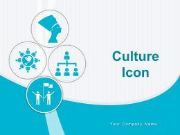 Culture Icon Egyptian Media Globe Diversity Hierarchy Organizational