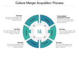 Culture Merger Acquisition Process Ppt Powerpoint Presentation Icon Structure Cpb