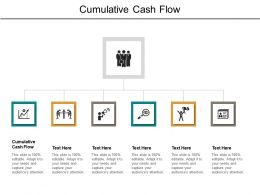 Cumulative Cash Flow Ppt Powerpoint Presentation Gallery Images Cpb