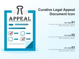 Curative Legal Appeal Document Icon