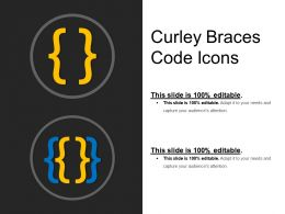 Curley Braces Code Icons