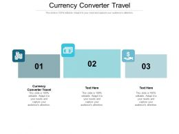 Currency Converter Travel Ppt Powerpoint Presentation Outline Backgrounds Cpb