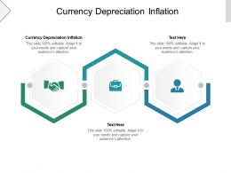 Currency Depreciation Inflation Ppt Powerpoint Presentation Model Background Image Cpb