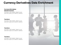 Currency Derivatives Data Enrichment Ppt Powerpoint Presentation Summary Icon Cpb