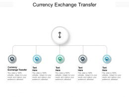 Currency Exchange Transfer Ppt Powerpoint Presentation File Layout Ideas Cpb