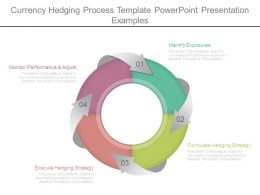 Currency Hedging Process Template Powerpoint Presentation Examples