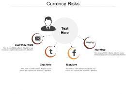 Currency Risks Ppt Powerpoint Presentation File Template Cpb