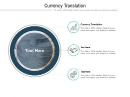 Currency Translation Ppt Powerpoint Presentation File Designs Download Cpb